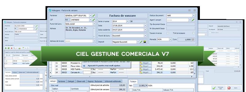 CIEL Gestiune Comerciala V7