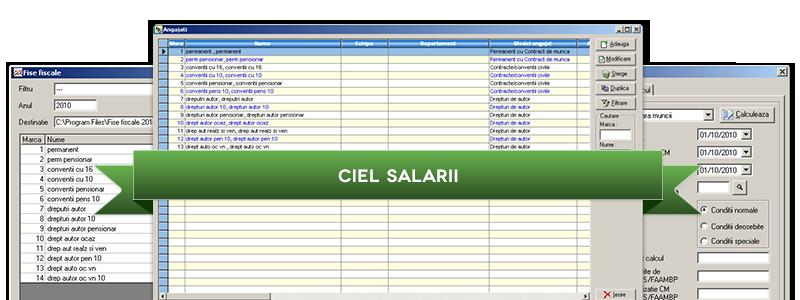 CIEL Salarii
